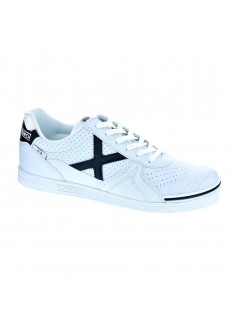 Munich Men's Trainers G-3 Profit 07 White Logo Black 3111007