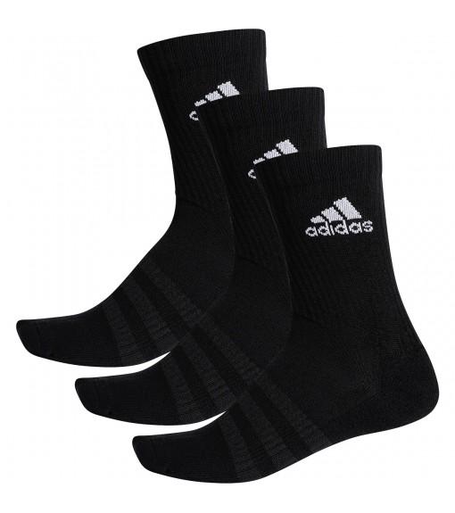 Calcetines Adidas clásicos Cushioned Negro logo Blanco DZ9357 | scorer.es