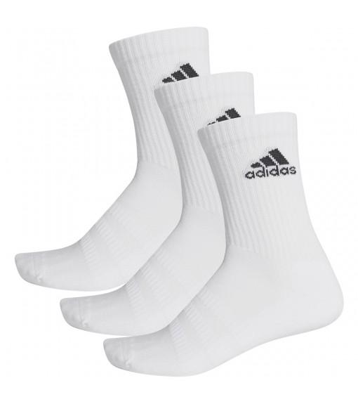 Calcetines Adidas clásicos Cushioned Blanco Logo Negro DZ9356   scorer.es
