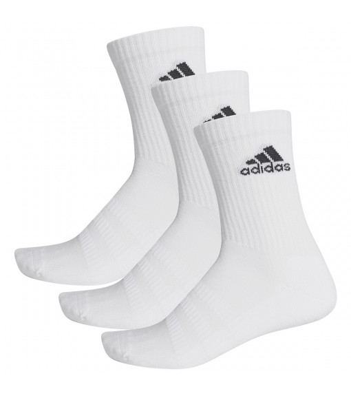 Adidas Classic Socks Cushioned White Logo Black DZ9356 | Socks | scorer.es