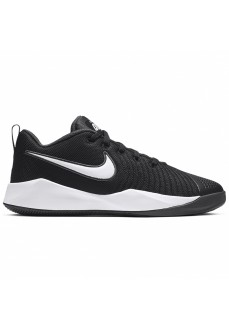 Zapatilla Nike Niño/a Team Hustle Quick 2 (GS) Negro/Blanco AT5298-002