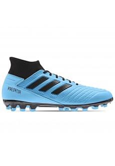 Bota de fútbol Adidas Hombre Predator 19.3 césped artificial Azul/Negro F99990 | scorer.es