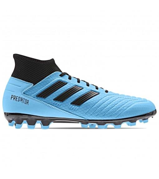 Bota de fútbol Adidas Hombre Predator 19.3 césped artificial Azul/Negro F99990   scorer.es