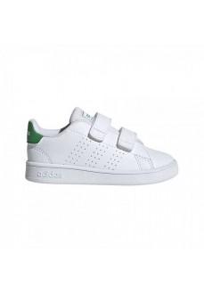 Zapatilla Adidas Advantage Blanco/Verde EF0301