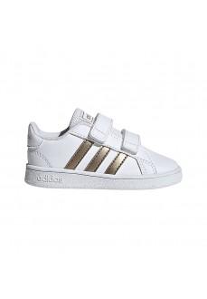 Zapatilla Adidas Grand Court Blanco/Cobre EF0116