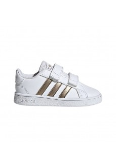 Adidas Trainers Grand Court White/Copper-Colored EF0116