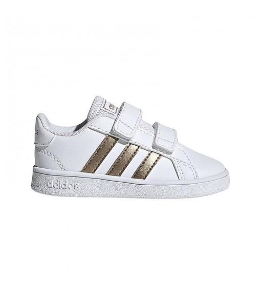 Adidas Trainers Grand Court White/Copper-Colored EF0116 | No laces | scorer.es