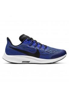 Zapatilla Nike Niño/a Air Zoom Pegasus 36 Azul/Negra AR4149-400
