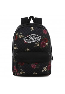 Mochila Vans Realm Backpack Botanical Negra Flores VN0A3UI6UWX1 | scorer.es