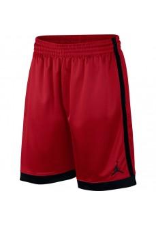 Pantalón Corto Nike Hombre Jumpman Jordan Shimmer Rojo Con linea Negra AJ1122-687