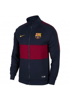 Sudadera Nike Hombre FC Barcelona Azul/Granate AO5445-451