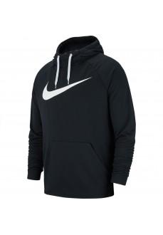 Sudadera Nike Hombre Dri-FIT Negra Logo Blanco 885818-010