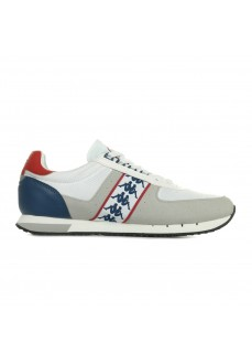 Kappa Men's Trainers Curtis White/Blue 304SHV0-901