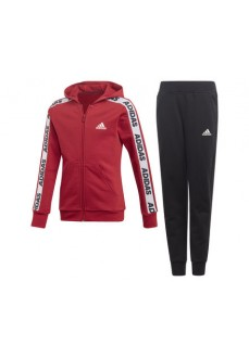Adidas Kids' Tracksuit Hooded Maroon/Black EK4312