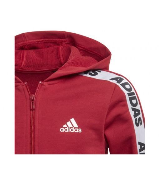 Adidas Kids' Tracksuit Hooded Maroon/Black EK4312 | Tracksuits | scorer.es