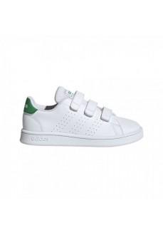 Zapatilla Adidas Niño/a Advantage Blanco/Verde EF0223