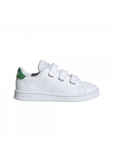Adidas Kids' Trainers Advantage White/Green EF0223