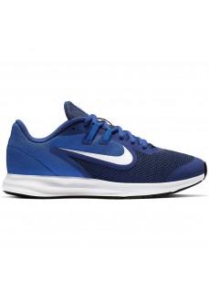 Zapatillas Niño/a Nike Downshifter 9 GS Azul Logo Blanco AR4135-400