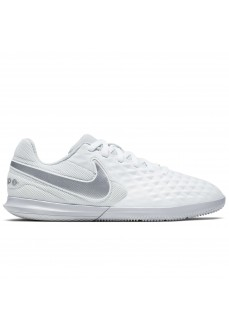 Zapatillas Nike Niño/a Jr Legend 8 Club IC Blanco/Gris AT5882-100