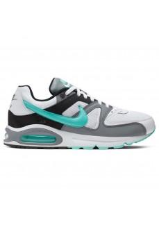 Zapatillas Nike Hombre Air Max Command Blanca/Gris/Verde/Negra 629993-110