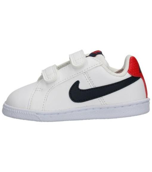 Zapatillas Nike Niñoa Court Royale (TDV) BlancoMarinoRojo 833537 107