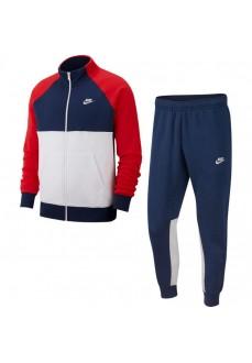 Chandal Nike Hombre Classic Tracksuit Training Azul/Blanco/Rojo BV3017-410