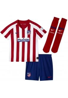 Equipación Nike Atlético de Madrid 2019/202 Blanco/Rojo AO3047-612