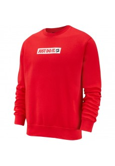 Sudadera Nike Hombre Nsw Jdi Crw Rojo BV5089-657