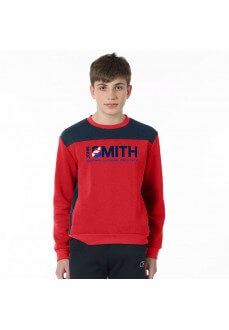 Sudadera Niño John Smith Crateris Marino/Rojo