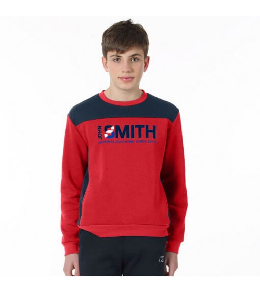 John Smith Kids' Sweatshirt Crateris Navy Blue/Red | Sweatshirt/Jacket | scorer.es