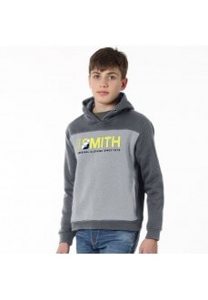 Sudadera Niño John Smith Columba Gris