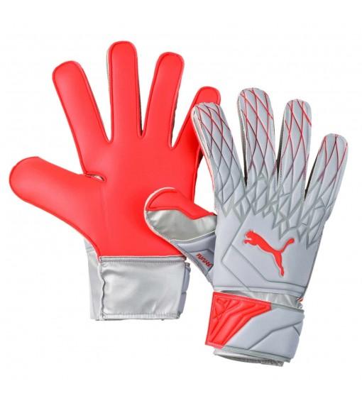 Puma Gloves Future Grip 19.4 Red/Gray 041626-01 | Goalkeeper Gloves | scorer.es