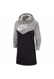 Vestido Mujer Nike Sportswear Heritage Gris/Negro BV4884 | scorer.es