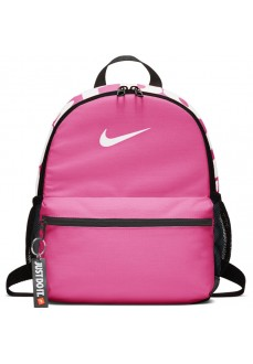 Mochila Nike Brasilia Just Do It Rosa/Blanco BA5559-611