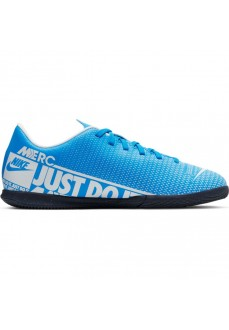Zapatilla Niño/a Nike Jr. Mercurial Vapor 13 Club IC Azul/Blanco AT8169-414