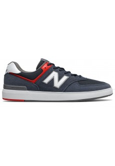 New Balance Men's Trainers Navy Blue AM574NVR | Low shoes | scorer.es