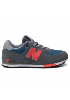 Zapatilla Niño/a New Balance Mln574Nfo Gris/Rojo GC574-NFO | scorer.es