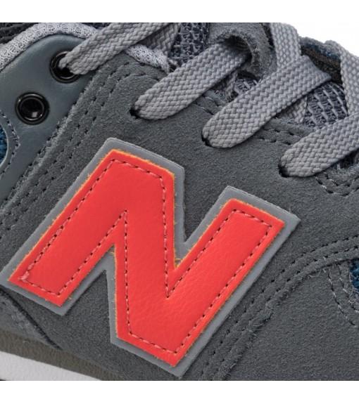 Zapatilla Niño/a New Balance Mln574Nfo Gris/Rojo GC574-NFO   scorer.es