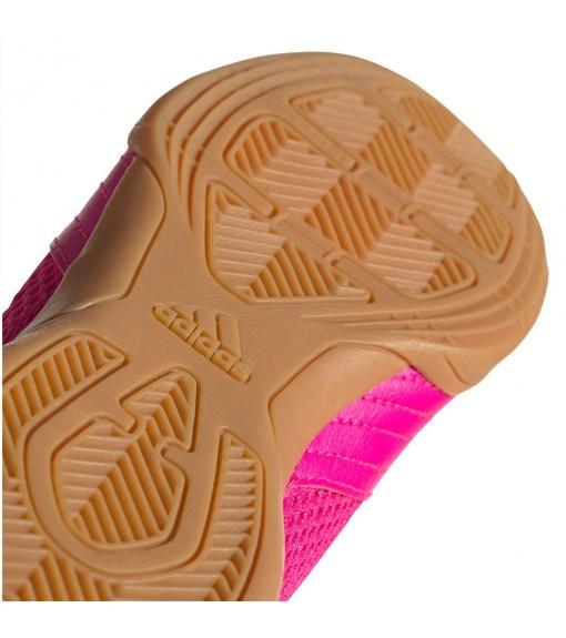 Zapatillas Niñoa Adidas Predator 19.4 In Fucsia Logo Negro EG2828