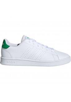 Adidas Kids' Trainers Advantage White/Green EF0213