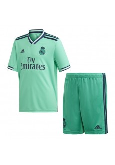 Miniconjunto 3ª Equipación Real Madrid Verde DX8919 | scorer.es