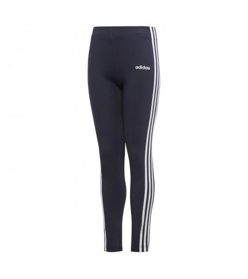 Adidas Girl's Tights Essentials 3-Stripes Tights Navy Blue White Lines EH6164   Mesh   scorer.es