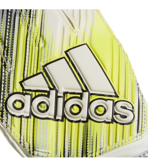 Adidas Gloves Classic Training White/Yellow/Black DY2622 | Goalkeeper Gloves | scorer.es