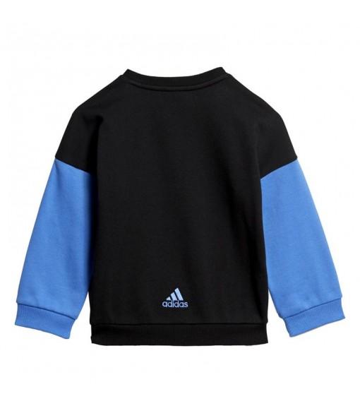 Chándal Adidas Graphic Terry Negro/Azul real ED1169   scorer.es