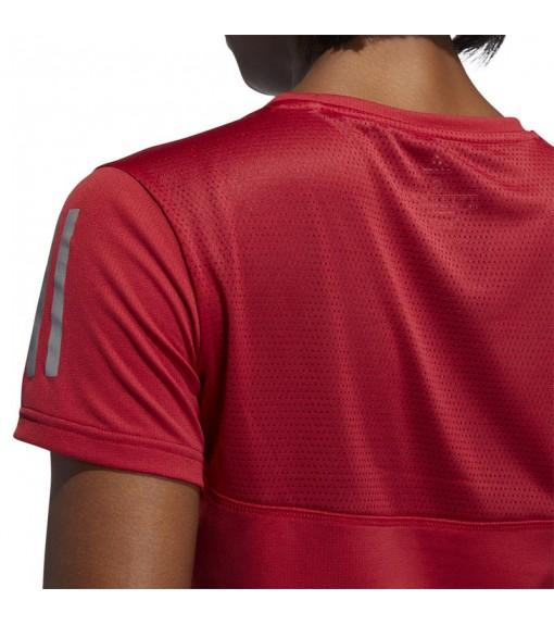 Adidas Women's T-Shirt Own the Run Maroon DZ2263   Running T-Shirts   scorer.es