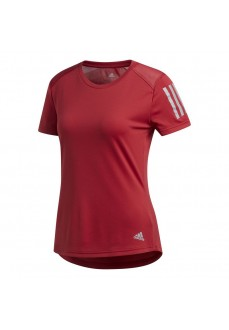Adidas Women's T-Shirt Own the Run Maroon DZ2263
