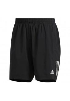 Pantalón corto Hombre Adidas Own the Run Negro Lineas Blancas DQ2557