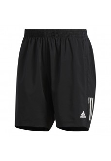 Adidas Men's Shorts Own the Run Black White Lines DQ2557