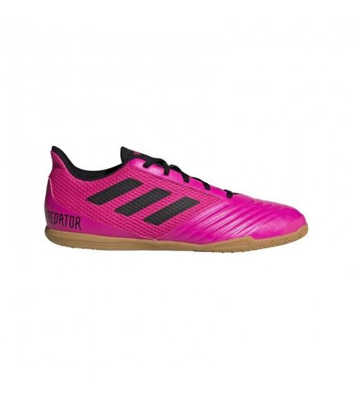 Zapatillas Hombre Adidas Predator 19.4 IN SA Fucsia lineas negras EG2826   scorer.es