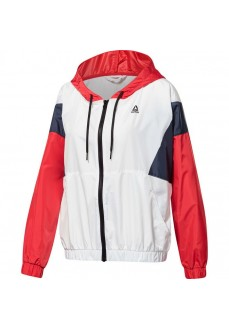 Reebok Women's Windbreaker Training Essentials White FI2009 | Sweatshirt/Jacket | scorer.es